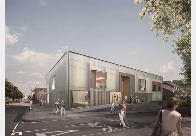 The New Generation will be the first building clad in profiled sinusoidal sheeting using polymer concrete and plexiglass in the UK.